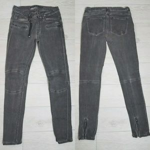 •ZARA• Skinny Biker Jeans Sz 2.